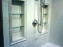 recessed shower niche glass shelf for shower niche recessed shelves in shower amazing design ideas recessed