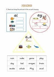 Each worksheet features a single word family. Phonics Worksheets And Online Exercises