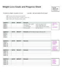 Weight Loss Contract Template Flybymedia Co