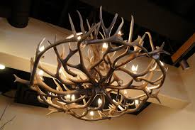 good deer antler chandelier