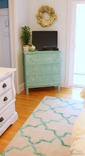Diy ikea tarva Apothecary Ikea Hack Tarva Dresser With Rugs Usa Rug At The Happy Housie The Happy Housie Porch Ikea Hack Tarva Dresser With Faux Painted Linen Texture The Happy