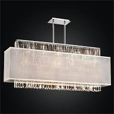 rectangular crystal chandelier rectangular shade chandelier reflections 600lm44 19sp w 7