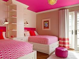 Pink Paint Colors For Bedrooms Hot Pink Ceiling Paint Color For Teen Bedroom Ideas With Classic