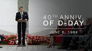 Normandy Speech Ceremony Commemorating The 40th Anniversary Of The Normandy Invasion D Day 6684