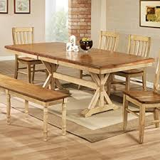 Amazon Winners ly Quails Run 84 in Trestle Dining Table