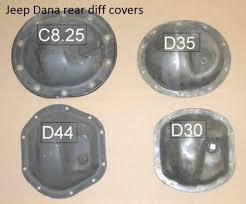 Dana 35 Gear Ratio Chart 97 06 Jeep Wrangler Rear Axle Brake Line Kit With Dana 35