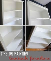painting laminate furnitureHowTo Paint Laminate Furniture  Jenna Burger