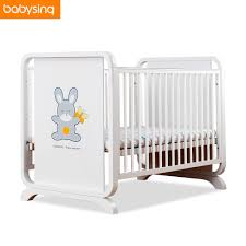 solid wood baby furniture. Multifunction Newborn Baby White Solid Wood Crib Imported Pine Adjustable Game Bed Bedding Set Mattress Crib-in Cribs From Mother Furniture