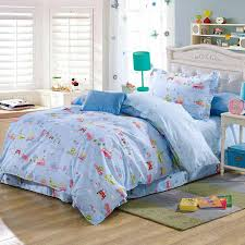 children cartoon car bus animal comforter bedding sets 100 cotton twin bed linens with sheet duvet quilt cover 3 or home textile girls bedding set
