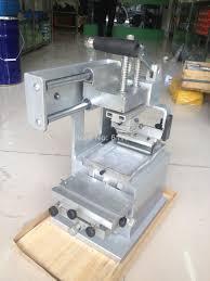Stamping Press Design Us 136 4 12 Off 1pc Manual Pad Printing Press Machine Company Logo Printer Equipment Single Color Oil Stamping Design Die Board Pad Head On