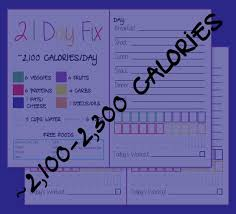 2100 Calorie Diet Chart 21 Day Fix Food Tracker 2100 2399 Calorie Bracket