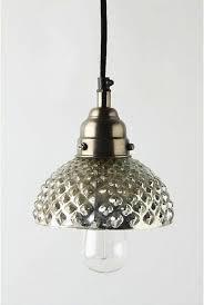 lighting mercury glass pendant lights at anthropologie