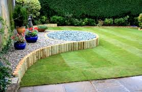 outdoor landscaping ideas. Landscaping Cheap And Easy Flower Bed Ideas For Big Gardens Outdoor Garden Design Outside K