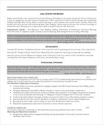 Sample Call Center Resume 8 Examples In Word Pdf