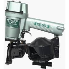 hitachi air nailer. manual for the hitachi models nv45ab2 \u0026 nv45ab2(s) pneumatic coil roofing nailers. includes trouble-shooting, operation, maintenance and safety instructions air nailer :
