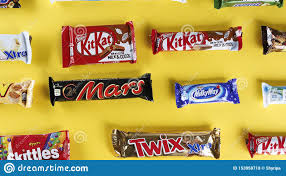 Chocolates Wrappers Chocolates In Bright Wrappers Editorial Stock Photo Image