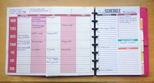 Free Printable Weekly Planner I Heart Planners