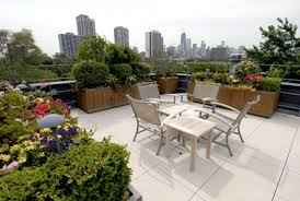 roof deck furniture. Roof Garden Design Ideas With Outdoor Furniture And Grey Deck
