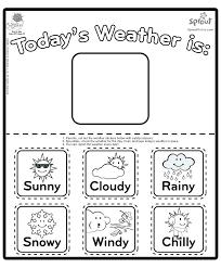 Free Printable Weather Worksheets For Kids 3 Kindergarten