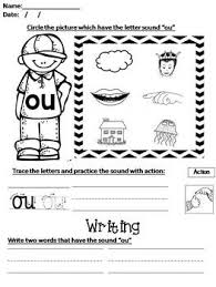 Our free phonics worksheets are colors, simple, and let kids understand phonics in a natural way through fun bingobonic phonics has the best free phonics worksheets for esl/efl kids! Phonics Worksheet 7 Qu Ou Oi Ue Er Ar By Mrs Ouri Tpt