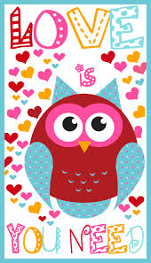 owl valentine s day cards to print. Exellent Valentine Owl Printable Valentineu0027s Day Cards For Valentine S To Print W