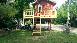 Easy kids tree houses Little Kids Treehouse Evohairco Treehouse Plans Kids Plans And Designs Architectural Digest