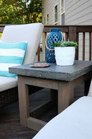 apartments 1000 ideas about outdoor side table on tables diy storage outdoor coffee
