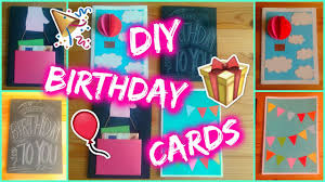 DIY Greeting Cards For Special Occasion  Birthday  Easy Ideas Card Making Ideas For Birthday