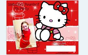 invitation hello kitty birthday invitation template new hello kitty birthday invitation template