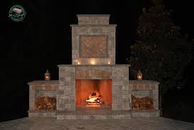excellent fireplace kits for your outdoor fireplace kits