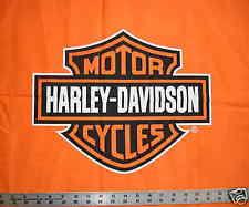 Harley Davidson Fabric | eBay & Orange Bar and Shield Logo HARLEY DAVIDSON Quilt Fabric fq fat quarter Adamdwight.com