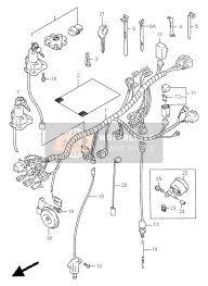 suzuki dr650se 1996 spare parts msp wiring harness