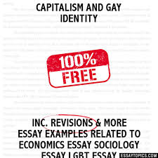 capitalism and gay identity essay capitalism and gay identity