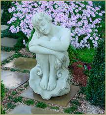 garden figures. Limestone Garden Statues, Sydney Figures T