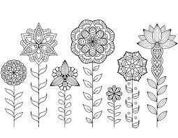 Imprimable Coloriage Mandala Fleur Imprimer Collection Coloriage