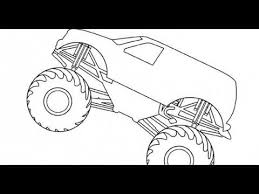 Grave Digger Monster Truck Coloring Pages Az Coloring Pages Youtube