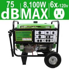 generac gp 5 500 watt gasoline powered portable generator 20 ft energy storm 8 100 7 500 watt gasoline powered electric start portable generator