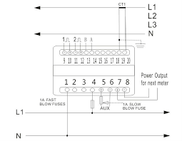 wiring diagram kwh meter 3 phase wiring image 3 phase 4 wire energy meter connection diagram wiring diagram on wiring diagram kwh meter 3