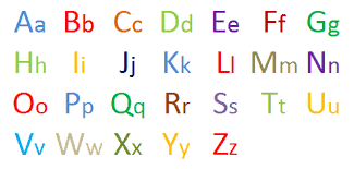 Capital And Small Alphabet Chart Photos Alphabet Collections