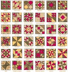 Patchwork patterns with names | Quilt Blocks | Pinterest ... & Patchwork patterns with names Adamdwight.com