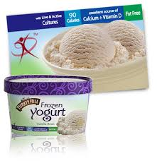 turkey hill vanilla bean frozen yogurt