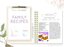 make your own cookbook template printable recipe template lovely editable recipe pages create your own cookbook