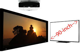 samsung tv 90 inch. don\u0027t buy a jumbo lcd tv, projector samsung tv 90 inch