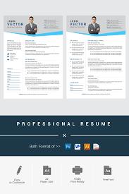 John Vector Modern Resume Template Consulting Logo Coaching