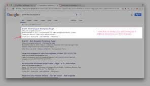 snip structured data plugin for wordpress