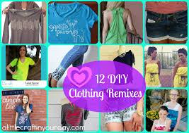 12 diy clothing remixes