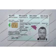 belgium id card