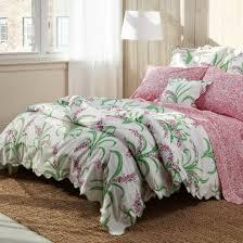 colorful pink green white fl duvet covers and quilts matouk lulu dk aurelia sheet envy