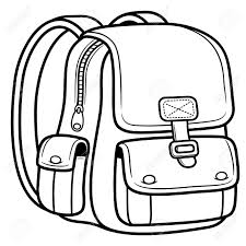 Small Picture Vector Illustration Of School Bag Back To School Royalty Free