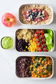 Balanced Meal Chart Vegan Meal Plan